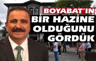 AYD Başkanı Sinan Burhan '' Boyabat'ın...