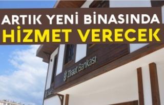 Boyabat Ziraat Bankası yeni binasına taşındı