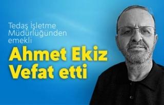 Ahmet Ekiz Vefat Etti