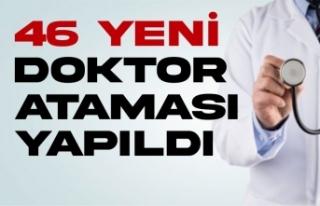 Sinop ve ilçelere 46 yeni doktor