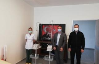 Boyabat TSO'dan hastaneye cihaz bağışı