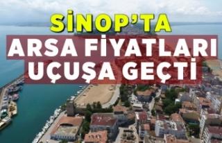 Sinop'ta arsa fiyatları yüzde 100 arttı,sebebi...
