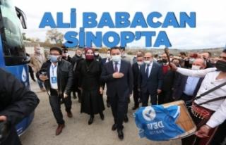Babacan: Sinop'un sorunlarını çok iyi biliyoruz
