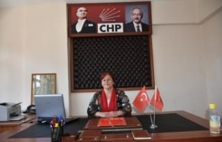 Boyabat Chp Kadın Kollarından 25 Kasım açıklaması