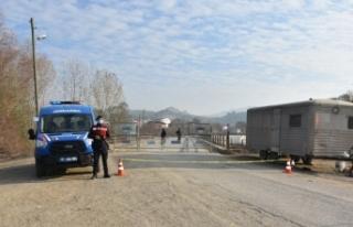 Boyabat Bağlıca köyündeki karantina sona erdirildi