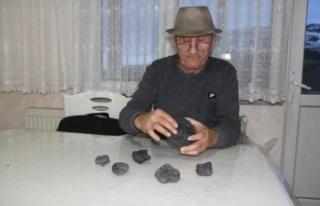 Sinop'ta yaşlı adamın yanı başına gökten...