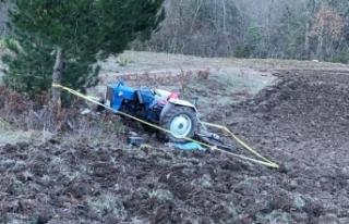 Traktörtakla attı 1 kişi hayatını kaybetti