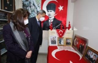 Sinop Valisi Erol Karaömeroğlu, Boyabat'ta...
