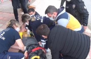 Balkondan düşen 2 çocuk annesi hayatını kaybetti...