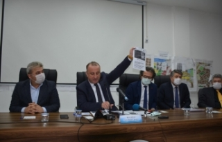"""Başkan Ayhan: """"Belediyeyi itibarsızlaştırmak..."""