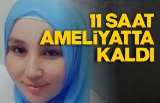 Eşi tarafından vurulan genç kadının durumu ciddiyetini...
