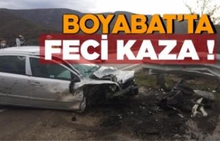 Çulhalı Köyü mevkinde kaza !