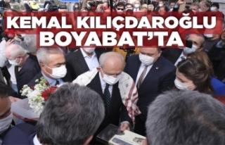 Chp Genel Başkanı Kemal Kılıçdaroğlu Boyabat'ta