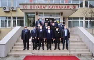 İçişleri Bakan Yardımcısı Mehmet Ersoy Boyabat'ta...