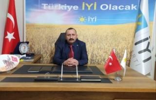 İYİ Parti İl Başkanı Şanlan'dan Başkan Çakıcı'ya...