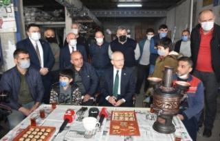 Kılıçdaroğlu, Boyabat Sanayi Esnafını dinledi