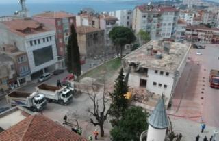 Meydan Projesi'nde yıkım başladı