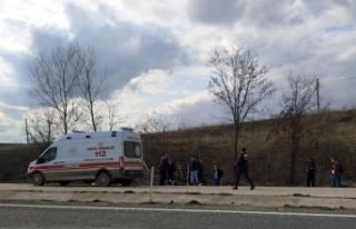 Taşköprü'deki kazada sürücü yaralanırken,...