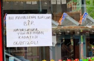Boyabat'ta bir hayırsever mahallenin borcunu kapattı