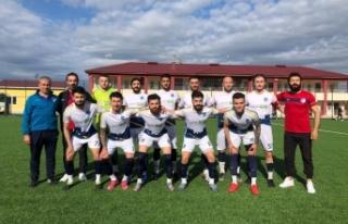 Boyabat 1868 Spor kendi sahasında Atakum Belediyespor'a...