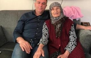 Mahmutlu Köyünden Merhum Yaşar Yeğin'in eşi...