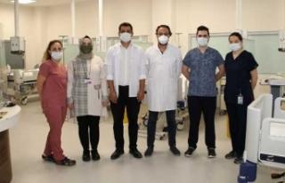 Sinop Devlet Hastanesinde inme ünitesi açıldı