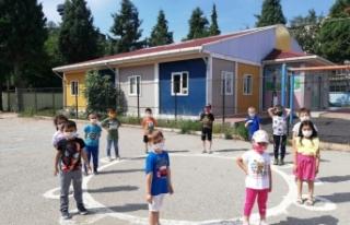 Boyabat Cumhuriyet İlk-Ortaokulu bünyesinde telafi...