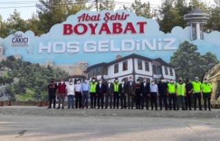 Mehmet Ersoy Boyabat'ta denetimlerde bulundu