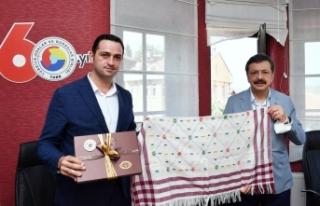 TOBB Başkanı Rifat Hisarcıklıoğlu Boyabat'ta