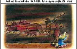 Aşkın Ayrancıoğlu karikatürde yine birinci