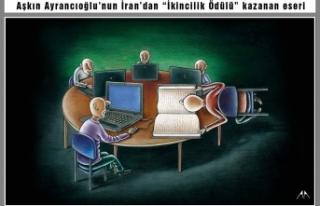 Ayrancıoğlu'na İran'dan dünya ikinciliği