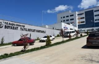 Boyabat Devlet Hastanesi Doğalgaz Dönüşüm İşi...