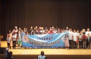 Boyabat Gençlik Merkezi'nden yıl sonu etkinliği