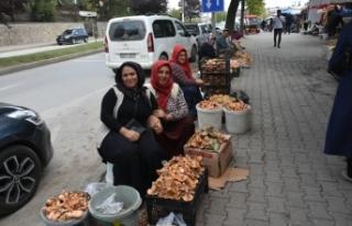 Boyabat Köy pazarında her ürün günlük, doğal...