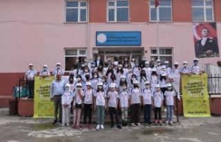 Boyabat'ta çocuklar STEM yolculuğuna çıkıyor