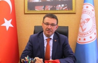 İl Milli Eğitim Müdürümüz Sayın Ercan Yıldız'dan...
