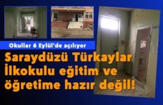 Saraydüzü Türkaylar İlkokulu eğitim ve öğretime...