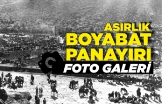 Boyabat Panayırı'ndan tarihi fotoğraflar