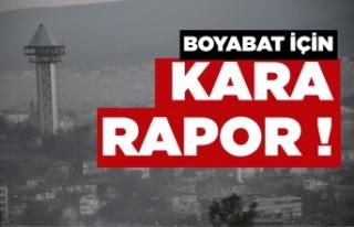 Sinop hava kirliliğine bağlı ölüm yüzdesinde...