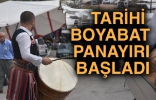 Türkiye'nin en eski panayırlarından Boyabat Panayırı...