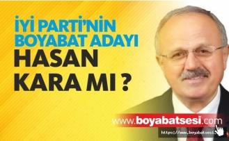 İYİ Parti'nin Boyabat Adayı Hasan Kara mı ?
