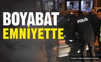Boyabat Polisi, İlçe Merkezindeki Denetimlerine Hız Verdi