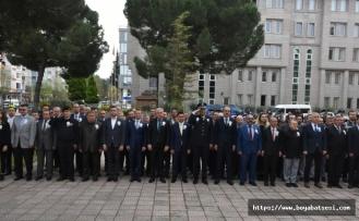 Boyabat'ta Polis Haftası Kutlanıyor