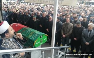 MHP İlçe Başkanı Yıldırım son yolculuğuna uğurlandı