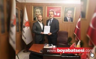 AK Parti'den Boyabat Belediye Başkanlığı Aday Adaylığı Başvurusunda Bulundu