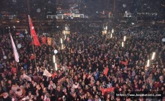 Boyabat Ak Parti, Başkan Çakıcı'ın 2. Dönem Başkan Seçilmesini Kutladı