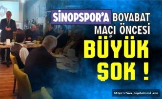 Sinopspor, mali sıkıntısını masaya yatırdı