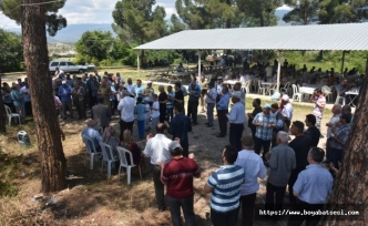 Boyabat Salar Köyü'nde Yağmur Duası Yapıldı