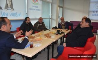 Gençlik Merkezi Müdürü Köroğlu, Gazetecilerle Buluştu