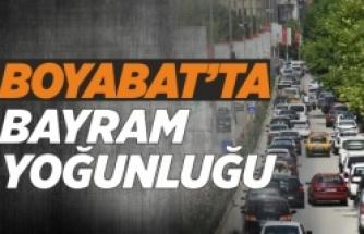 Boyabat'ta Ramazan Bayramı Yoğunluğu Yaşanıyor